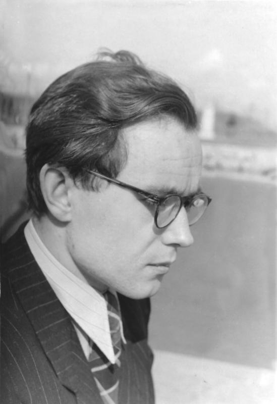 Ершов А.П. - аспирант кафедры вычислительной математики ММФ МГУ.  1954 г.