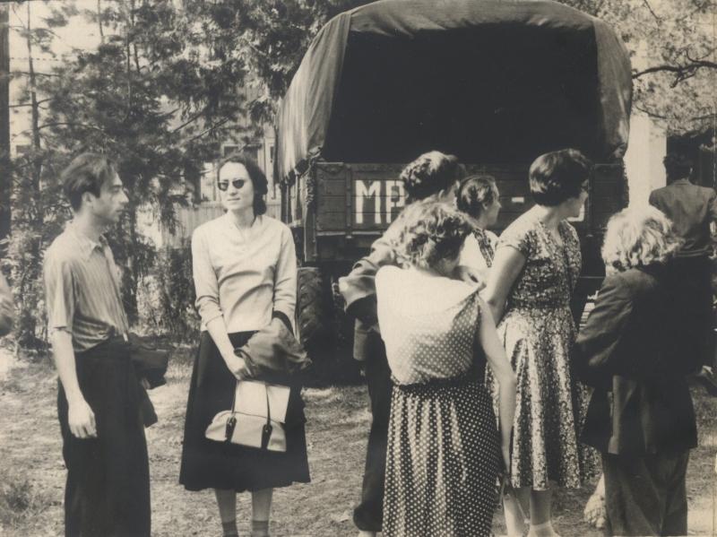 Сотрудники отдела программирования, 1959 г.