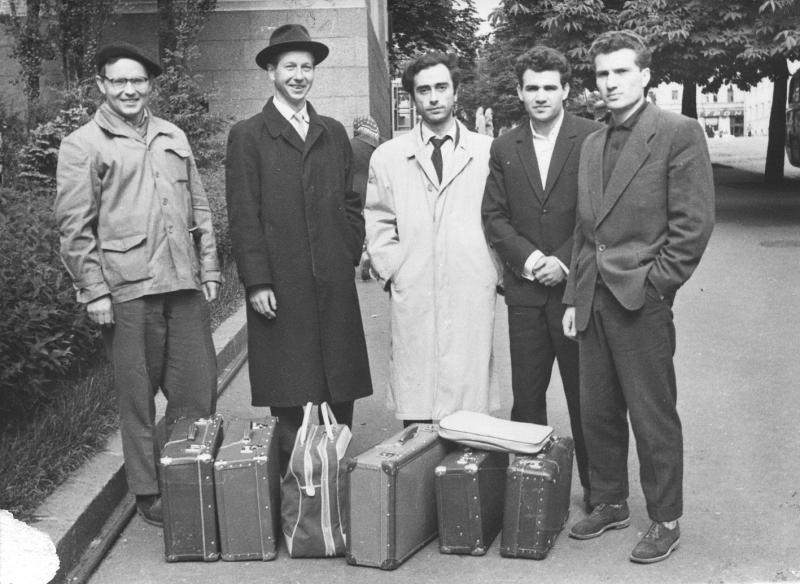 Участники конференции социалистических стран по автоматическому программированию в Киеве 3-8 июня 1963 г.