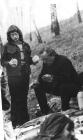 Анна Ершова (Бульонкова) и А.П. Ершов на пикнике, 1973 г.
