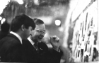 Празднование 15-летия ОП, 1973 г. А.П. Ершов и А.В. Замулин