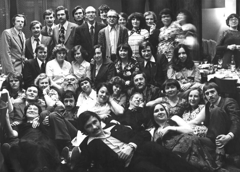 Памятная фотография на 20-летие Отдела программирования, 1978 г.