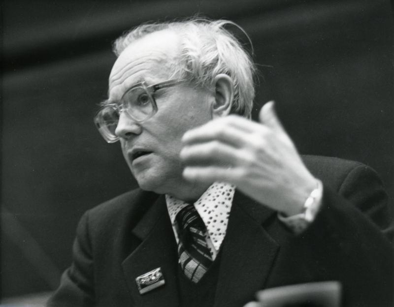 Выступление А.П. Ершова по вопросам информатизации образования. Ок.  1986 г.