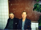 А.В. Замулин и И.В. Поттосин в кофе-клубе