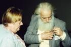 Г.А. Плотникова и А.А. Берс, 2001 г.