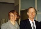 Н.А. Калинина и И.В. Поттосин, 1998 г.