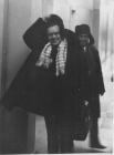 А.П. Ершов и Г.И. Кожухин в коридоре ВЦ