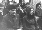 Студенты НГУ на семинаре в Вычислительном центре СОАН СССР, 1975 г.