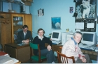 Ю. Погудин, Л. Захаров, Г.Г. Степанов, 1995 г.