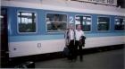 М. Миякава и В.К. Сабельфельд, 1998 г.