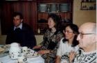 В.К. Сабельфельд с женой Людмилой в гостях у проф. Ф.Л. Бауера и его жены. Мюнхен, 1993 г.