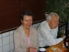 Л.Л. Змиевская и А.Ф. Рар в кофе-клубе, 2000 годы