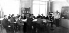 Семинар в кабинете А.П. Ершова, 1974 г.